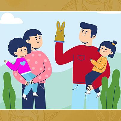 bach flower parents-right-side-illustration